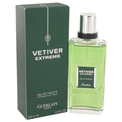 Guerlain Vetiver Extreme By Guerlain for Men Eau De Toilette Spray, 4.2-Ounce