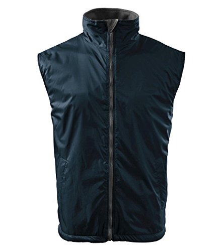 Dress-O-Mat Herren Weste Body Warmer Herrenweste Marine Blau