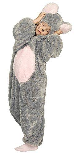 KARNEVALS-GIGANT Mauskostüm Maus Plüsch Kostüm Kinder Jungen Mädchen Plüschkostüm Unisex Größe 116-128