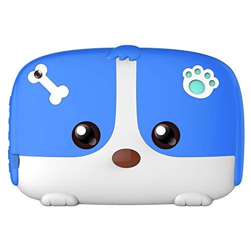 WANGOFUN Tablets für Kinder, 7-Zoll-Andriod-Tablet mit 8 GB ROM und WiFi-Dual-Kamera-Kinder-Pädagogisches Tablet-Lerntraining Kinder,Blue (Für Tabs Monster Kleidung)