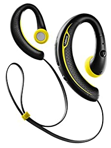 Jabra Auricolari Stereo Sport Plus Wireless Bluetooth, Nero/Giallo