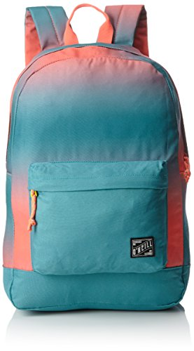 O'Neill - Bm Coastline Graphic Backpack, Mochilas Hombre, Pink (Pink Aop W/ Green), 13x31x46 cm (B x H T)