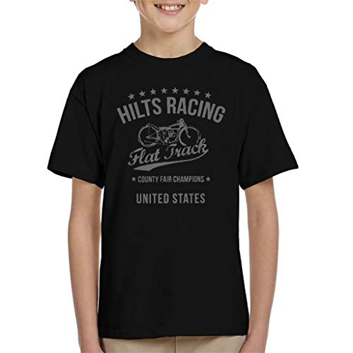Great Escape Hilts Racing Flat Track County Fair Champions Kid's T-Shirt
