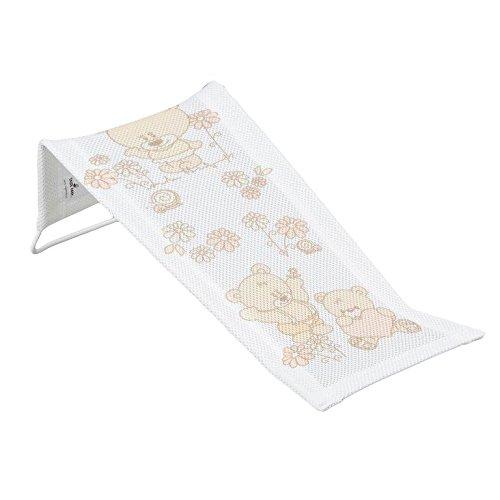 Unterstützung Pad (Baby Bad Pad Frottee Sicherheit Unterstützung Sitz für Neugeborene–Teddy Bear)