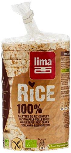 Lima Galettes de Riz Complet Salées Bio 100 g