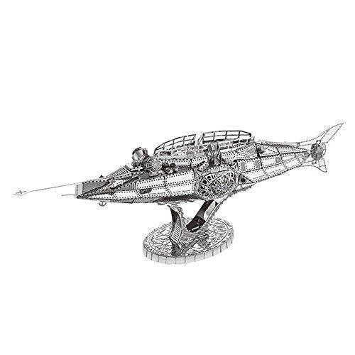The Nautilus U-Boot Modell Kits C12202 DIY 3D Laserschnitt Modell-Bausatz Spielzeug ()