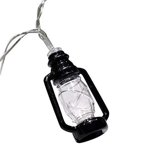 Öllampe Modellierung Led Lichterkette Kaiki DIY Batterienbetriebene Licht für Garten Weihnachten Halloween Hochzeit Beleuchtung Deko