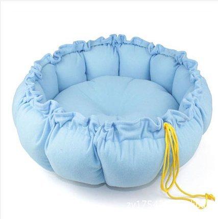 waygo Pet Puppy Dog Cat Sleeping Bett Kissen Mat Kennel Nest Warm Haus blau -