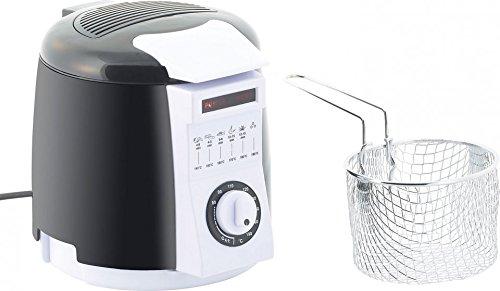 Mini-friteuse avec service à fondue intégré - 0,9 L [Rosenstein & Söhne]