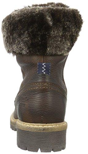 Gaastra Lucia High Tmb Fur, Bottes courtes avec doublure chaude femme Marron - Braun (2200 Dark Brown)
