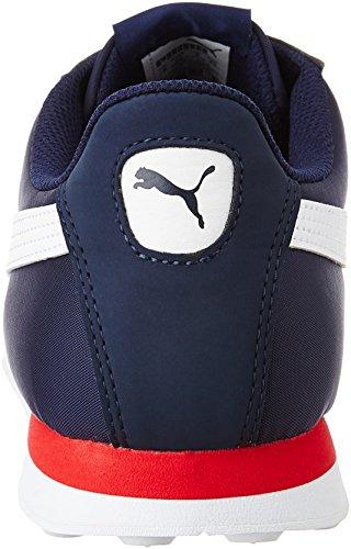 Puma Turin Nl, Baskets Basses Mixte Adulte Bleu (Peacoat/White 02)