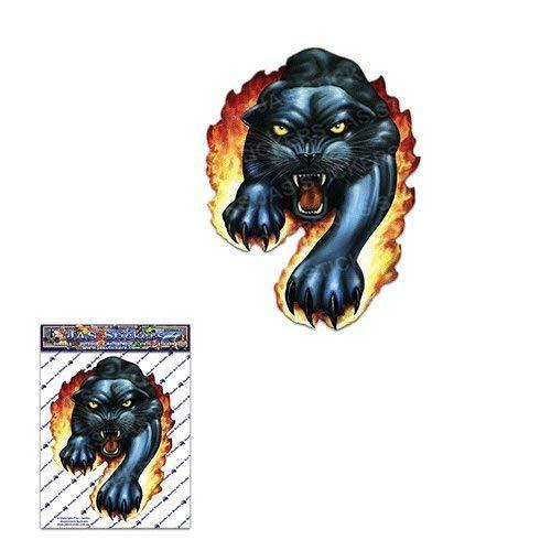 SCHWARZ PANTHER kleines Tier große Katze Pack Auto Aufkleber Decals - ST00009_SML - JAS Aufkleber -