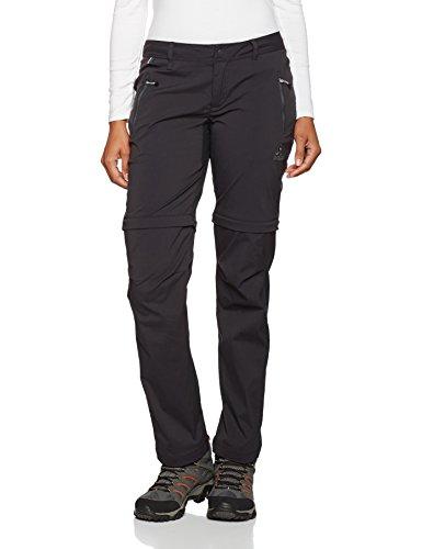 Odlo Damen Pants Zip-Off WEDGEMOUNT Hose, Black, 40