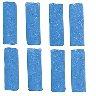 Abfluss-Fee Duftstein Meeresbrise 8er-Set 40g blau - Nachfüllset