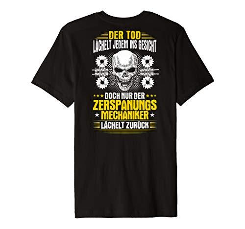 Zerspanungsmechaniker T-Shirt Lächeln Dreher Fräser -