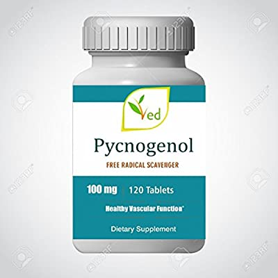 Pine Bark Extract Pycnogenol 100mg 120 tablets