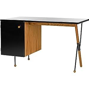 gubi Grossman 62Series scrivania, Noce Nero 72x 120x 60cm