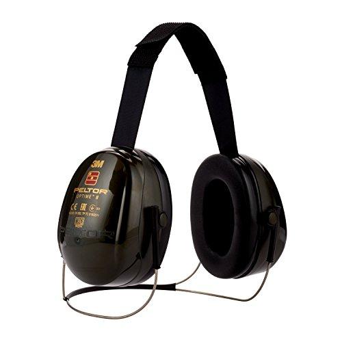 3M PELTOR Optime II Cuffie auricolari, 31 dB, Verde,...