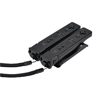 Speedlink Wave Wii/Wii U Ladestation (spezieller Wii-Anschluss, läd bis zu zwei Wiimotes gleichzeitig, Akkus beiliegend) schwarz