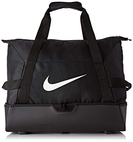 Nike NK ACDMY Team L HDCS Gym Duffel Bag, Black/White, MISC