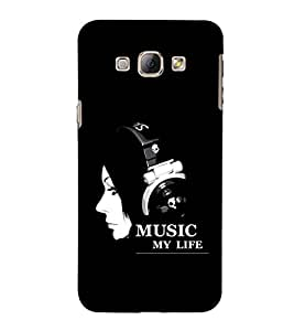 EPICCASE Music my Life Mobile Back Case Cover For Samsung Galaxy A5 (Designer Case)