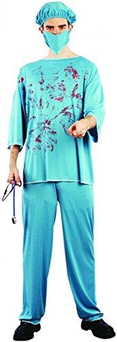 or Chirurg Halloweenkostüm Arzt hellblau Einheitsgröße (Die Ahnungslosen Kostüm)