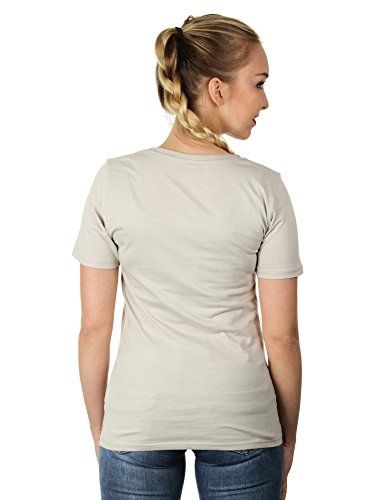 Pustekuchen - Damen T-Shirt von Kater Likoli Light Gray