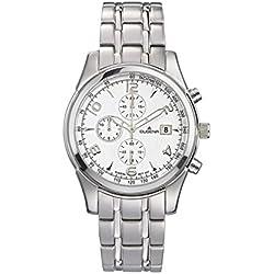 Dugena Sport Gents Watch Quartz Watch With Metal Strap 4460351