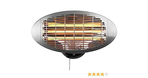 Firefly Chauffage Ext/érieur Mural de Terrasse avec Bras Articul/é 3 R/églages de Chaleur Radiant Infrarouge /à Quartz 2000 Watt IPX4