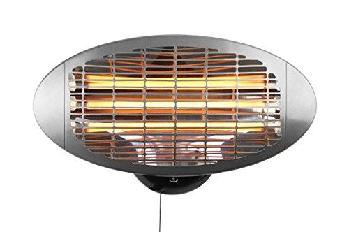 Firefly 2.000 Watt Infrarot-Heizstrahler (Quarz) Terrassenheizung, Wandmontage, 3 Leistungsstufen