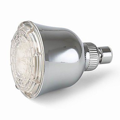 miaoge 10,2cm A Grade ABS Chrome Finish LED Regen Duschkopf