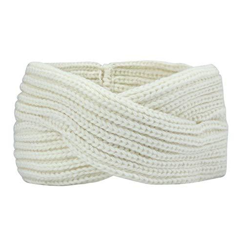 Vbwer moda quotidiana elastico elastici tinta unita fascia per cucito fascia per capelli minimalista incrociarsi singolo della banda fasce femminili headwraps hair bands accessori archi