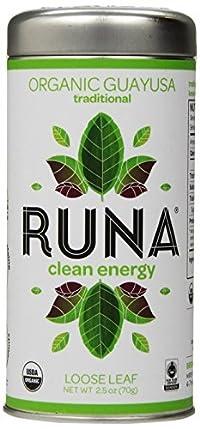 RUNA Amazon Guayusa Tea, Traditional, 2.5 Ounce