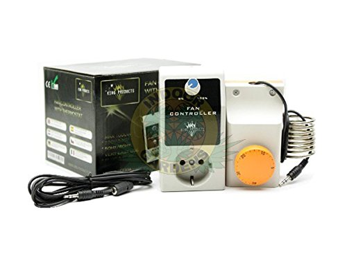 Fan Controller reguliert 1000W (Dimmer + Thermostat)