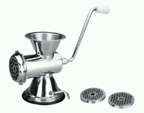 Lacor-60329-3 DISC ST.STEEL MEAT MINCER 4-5-8 MM.