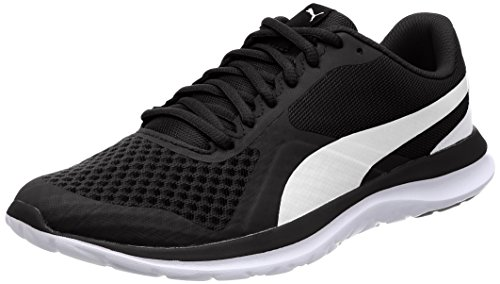 Puma Unisex-Erwachsene FlexT1 Low-Top, Schwarz Black White 01, 40 EU