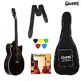 Ketostics Givson Venus Special Guitar combo (Black) VS-BLK Acoustic Guitar With Cover/Bag,rhythm string