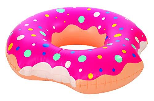 Kangaroo's Two-Bite Donut Inner Tube, Pool Float