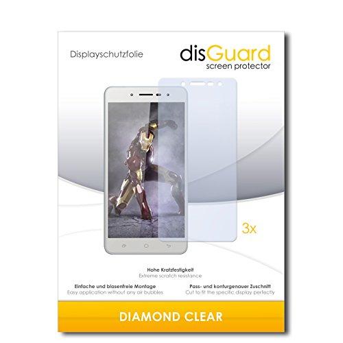 3 x disGuard® Schutzfolie Hisense L695 Bildschirmschutz Folie