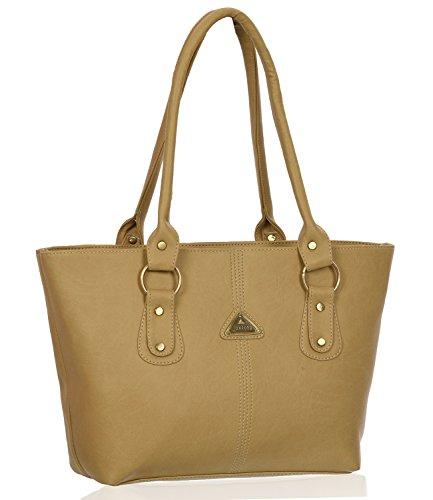 Fantosy Women Shoulder Bag(FNB-194-1) (Beige)