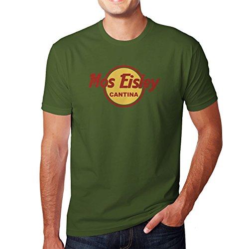 Mos Eisley Cantina - Herren T-Shirt, Größe: XL, Farbe: Army (Chewie Kostüm)