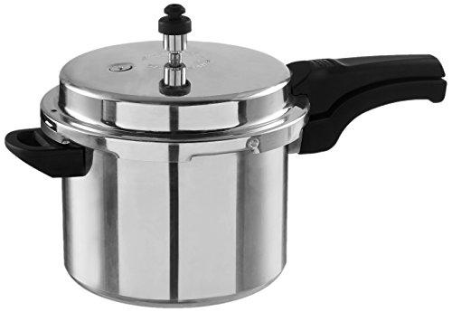 Wonderchef Power Aluminium Pressure Cooker Set, 3-Pieces, Silver