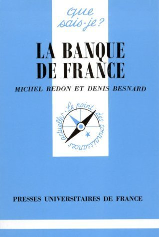 La Banque de France de Redon, Michel (1996) Poche