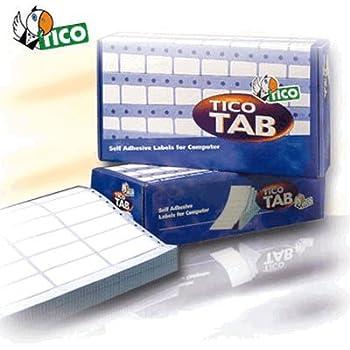 Tico TAB1-1499 Etichette a Modulo Continuo 149 x 97.2 Bianco