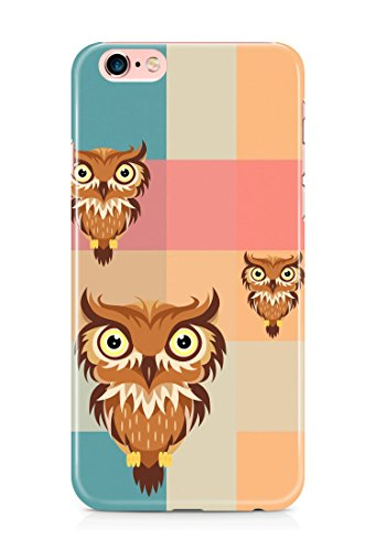 Colorful unique new owl 3D cover case design for iPhone 7Plus 10