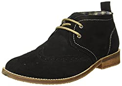 BATA Mens Depp Black Boots-9 UK/India (43 EU)(8036108)