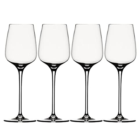 Spiegelau Willsberger Anniversary Large Wine Glasses, White, Set of