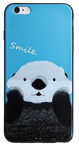 Voguecase® Pour Apple iPhone 6 Plus/6S Plus 5,5, TPU avec Absorption de Choc, Etui Silicone Souple, Légère / Ajustement Parfait Coque Shell Housse Cover pour Apple iPhone 6/6S 4,7 (ADVISORY)+ Gratuit  Smile 05