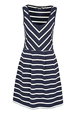 Mountain Warehouse A-Line Sleeveless Womens Dress - Lightweight Ladies Summer Dress, Breathable Day Dress, Flattering Design, Easy Care - for Spring, Beach, Poolside