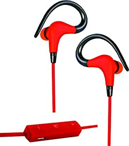 Artis BE100M Bluetooth Sports Earphones with Mic- Red
